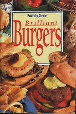 Family Circle - BRILLIANT BURGERS MINI COOKBOOK -  SC - VERY GOOD CONDITION