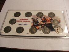 Wartime Silver Nickels Specialty Set Holder
