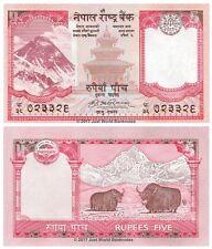 Nepal 5 RUPEES 2008 UNC banconote P-60