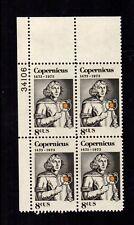 #1488 - 8¢ Copernicus Issue - Mnh Plate Block -