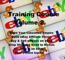 CD - eBay Training Course - Volume 2 - eBooks (Resell Rights)