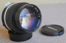 Nikon Nikkor 85mm F2 AIS Manual Focus lens AI-S digital film SLRs EXC+