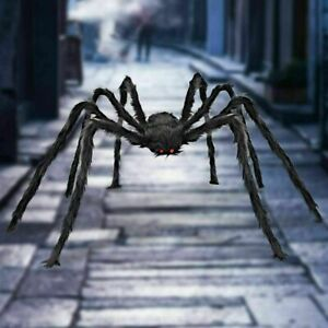 30CM Halloween Haunted House Prop Spider Black Giant Spider Outdoor Home Decor