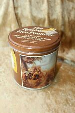 Vintage The Remington Five Pounder .22 Ammo Tin Collectible Ammo Canister