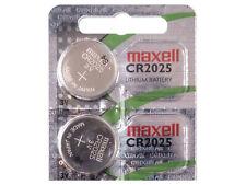 2 x Maxell CR2025 Pila Batteria Key per Mercedes C CL CLK CLS E G GL ML R S SL