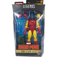 2021 Marvel Legends Shang-Chi Iron Man AI Tony Stark BAF Mr Hyde New Damaged Box