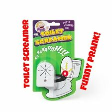 Toilet Screamer Bathroom Gag Gift Scare Joke Potty Fun