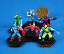 Spider-Man Wolverine Captain America Dr Octopus X-Men Cake Topper Chess Set A586