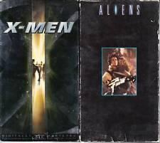 X-Men (VHS, 2000) & Aliens - 2 Sci-Fi VHS Tapes