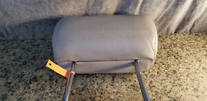 Toyota Sequoia 2nd ROW GRAY HEAD REST leather back seat second CENTER headrest