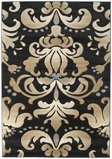 """United Weavers 510-24066 Blue Damask Leaves 3x7 Area Rug - Approx 2'7""""x7'4"""""""