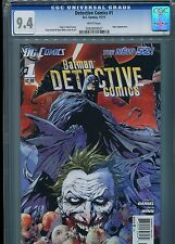 Detective Comics #1 (New 52)  CGC 9.4  White Pages