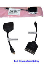 New Dell Mini DisplayPort to DVI Adapter Cable Thunderbolt to DVI for Mac 0J3PJK