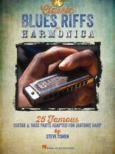 Partitions musicales et livres de chansons contemporains pour Blues et un Harmonica