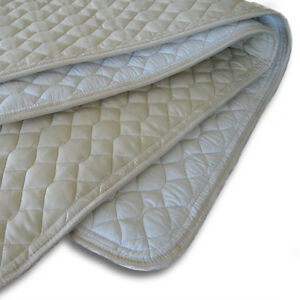 ProMagnet Magnetic Mattress Pad All Natural Cotton (TRAVEL size - 60 Magnets)