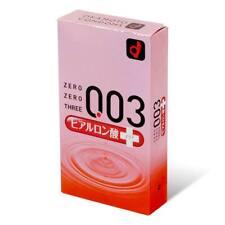 岡本 OKAMOTO 0.03 超潤透明質酸潤滑劑安全套 003 Condom 避孕套保險套衛生套 日本製加量潤滑油 Extra Lubricated 10個裝