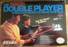 THE DOUBLE PLAYER WIRELESS HEAD TO HEAD SYSTEM AKKLAIM NINTENDO NES