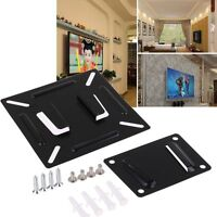 "Wall Mount Bracket For 14""-24"" Flat Panel LCD LED Plasma Monitor TV PC Screen"
