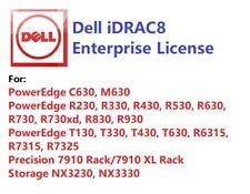 Same Day, Dell iDRAC8 Enterprise License, 13G PowerEdge R730/R630/R530/R430/R330
