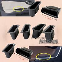 R+L Rear Interior Black Side Door Storage Box Container For Volvo XC60 2009-2016