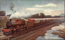 Ferrovia ~ 1930 Railway Express Bombay Poona mail Great Indian Peninsula Rly