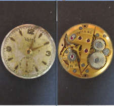 wyler vetta  80 movimento meccanico movement manual old watch dial parts vintage