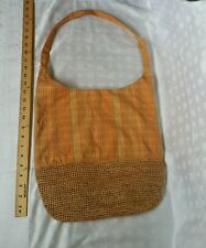 SALE** Woolrich Large Tote Shoulder Bag Orange Tan #G126