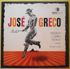JOSE GRECO BALLET Decca Gold Label DL 9757 Orquesta Zaruela de Madrid 1954