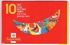 1990 - Greetings (Smiles) Stamp Booklet, February 1990