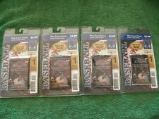 1999 TOPPS CHROME SERIES 1 BASEBALL 4 UNOPENED SEALED BLISTER PACKS 4 CARDS EACH