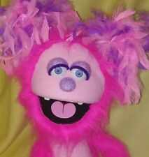 Professional Muppet Glee Style Stage Hand Pro Ministry Puppet Girl Furry Monster