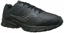 Womens Saucony Grid Momentum Walking Sneakers - Black, Size 12