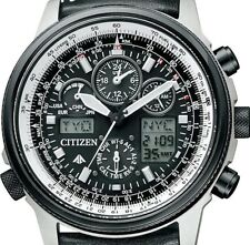 New!! CITIZEN PROMASTER SKY PMV65-2272 Eco-Drive Solar Atomic Perfex Men's Watch