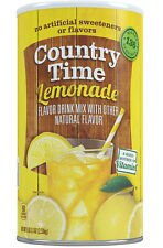 Country Time Lemonade 2 Cans 5 lb x 2 = 10 lbs Drink Mix Powder Makes 68 quarts