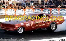 "Gene Snow ""Rambunctious"" 1970 Dodge Charger NITRO Funny Car PHOTO!"