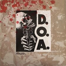 DOA Murder Vinyl LP Record d.o.a subhumans & leadbelly covers! punk album NEW!!!