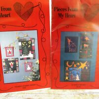 Pieces From My Heart Christmas Patterns O Holy NIght Starry Starry Night Lot 2