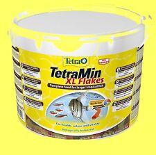Tetra min XL 10 Litres Seau Nourriture pour poisson Aliment en flocons complète