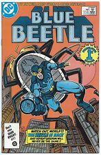 BLUE BEETLE #1 June 1986 DC Comics NM 9.4 OWW 1st App FIREFIST (Lyle Byrnes)