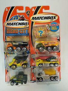 Matchbox 1/64 Diecast Construction Vehicle Lot #1