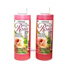 AGUA DE ROSAS Rose Water 8oz Skin and Facial Cleanser Limpiadora Piel Facial 2pk