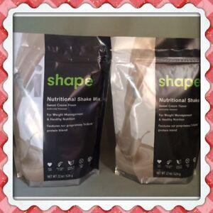 2x Body By Vi Shape ViSalus Shake Mix, 22 oz bags 48 Meals Exp 8/2023