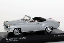 Borgward Isabella Coupe Cabriolet 1959 silber Minichamps 1:43 NEU/OVP