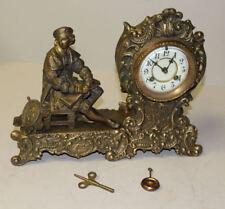 Antique Waterbury Clock Company – Vesta – Figural Mantel Clock