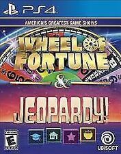Greatest Game Shows: Wheel of Fortune & Jeopardy (Sony PlayStation 4) Brand New
