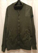 G-star Krozan Collar Vest Sw / LS. Green. Small.