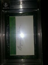 2013/2014 Leaf Legends of the Links cut-auto. Byron Nelson/Steve Jones #d 2/2