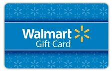 Walmart Gift Card *Card shipped Fast *Brand New *$10, $25, $50, $75, $100