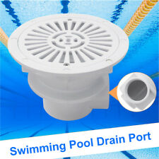 1pc Swimming Pool Main Drain Port Bottom Spa Water Outlet Suction Accessory