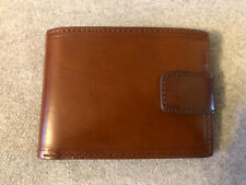 M&S Tan Leather Mens Wallet, New